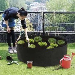 Flower Pot & Planter tecido preto crescer sacos sacos de plantadeira para Pendurar na Parede