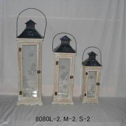 Wooden Lantern (8080L, M, S-2)