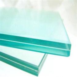 Pec+1.7815mm+15mm novela Super White doble laminado templado de vidrio impregnadas de calor para la construcción