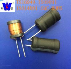 Induttori al piombo radiali della bobina del filtro da potere di memoria del timpano del ferrito con 47uh 100uh 220uh 1mh