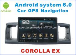 Новый пользовательский интерфейс системы Android видео для автомобиля Toyota Corolla Ex 7 дюйма с системой навигации
