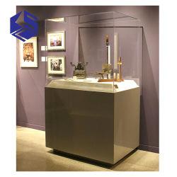 Ювелирные изделия корпус дисплея Музей стекла дисплей случаев