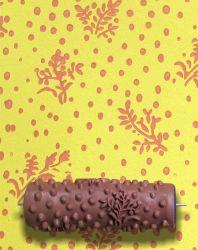 벽 장식 패턴 페인트 롤러를 위한 양각 배경 무늬 도구