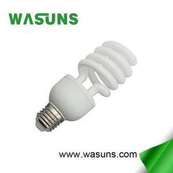Spirale 2700k de la moitié 30W E27 Lampe à économie d'énergie de bonne qualité