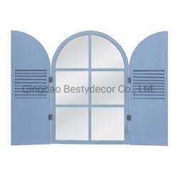 돌 회색 시골풍 장식적인 Windows 미러/가정 미러 장식