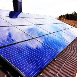 Ce TUV Certified 20000 W солнечной системы складной крыши для промышленности с черного или серебристого цвета рамы в Испании