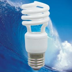 Энергосберегающая лампа в форме спирали мини-лампы