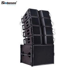 高品質ラインアレイ索具の部品が付いている専門の屋外の拡声器システムKa208スピーカー