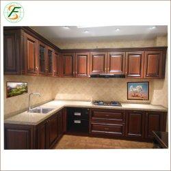 高品質贅沢なPVCドアの高い光沢のあるラッカー純木の台所家具