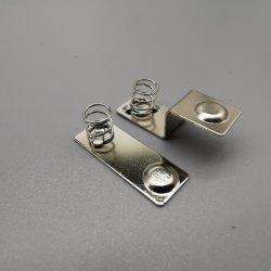 SMD AA 건전지 접촉을 각인하는 주문 기계설비 부속 금속