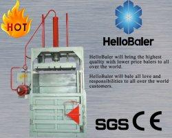 Nouvelles de l'aluminium verticale de l'étain/can/Pet/machine de la ramasseuse-presse papier