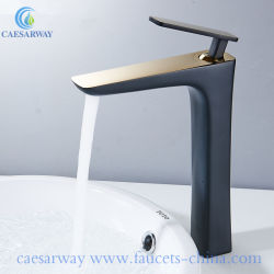 Черный окрашены одним ручки латунные ванной бассейна электродвигателя смешения воздушных потоков