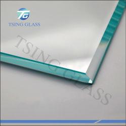 Costruzione indurita Tempered tinta/libera di vetro per parete divisoria/dello scala/portello/finestra/doccia/rete fissa