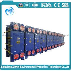 M3/M6/M10/M15/M30SUS317LÉchangeur de chaleur pour le refroidissement de la machine de moulage par injection d'hydroxyde de sodium