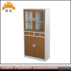 Les portes coulissantes avec étagère ajustable du cabinet d'affichage