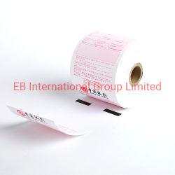 Carta termica in rotoli per registratore di cassa personalizzato ad alta sensibilità In ATM Machine TPW-79-152-51