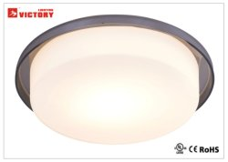 Nouveau design moderne en verre LED simple d'éclairage de plafond décoratif