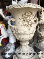 Европейский песчаника Flowerpot скульптура наша компания специализируется в процессе принятия решений различных видов скульптурные скульптуры, которые могут быть настроены на частном