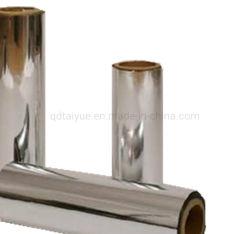 Pellicola metallizzata per animali d'argento lamina di alluminio per laminazione a caldo