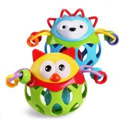 El bebé sacude bebé Juguetes PVC pelota suave (H0001265)
