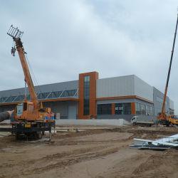 Structure en acier de trame Pre-Fabricated Building Workshop pour l'usine