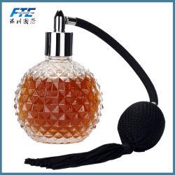 De lege Flessen van het Parfum van de Fles 100ml van het Kristal met de Bovenkant van het Luchtkussen