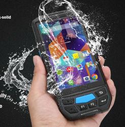 Fabbrica PDA robusto della Cina con la stampante termica & l'impronta digitale, HF NFC di Lf 125K 134.2K 13.56 megahertz, lettore di frequenza ultraelevata RFID, codice a barre 1d/2D, assistenti tecnici della squadra tecnici & supporto di Sdk