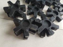 """"""" L """" tipo de acoplamiento de caucho negro, la cruceta de caucho, goma de elastómero (3A2006)"""