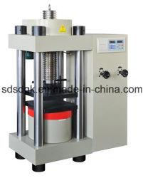 Ja LCD van de Reeks het Concrete Hydraulische Compressie van de Vertoning/Testen van de Sterkte van de Druk/het Instrument/de Apparatuur/de Machine van de Test
