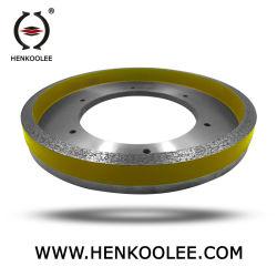 Ferramentas de diamante para funcionamento contínuo a Rim Wet Rebolo/roda de corte/rodas de polimento