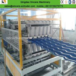 Machine van de Productie van het Blad van het Dakwerk van pvc PMMA ASA de Samengestelde Verglaasde