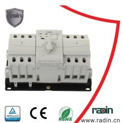 مفاتيح نقل المولد التلقائي/اليدوي 3p/4p 63A توفير الطاقة صغير الحجم تغيير مفاتيح أداة تحويل مولد الطاقة