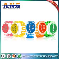 Wristband di plastica resistito a a temperatura elevata della STAZIONE TERMALE di RFID per controllo di accesso