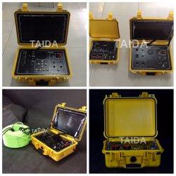 Strumentazione del sistema di comunicazione del trasmettitore della macchina fotografica del CCTV di immersione subacquea di tuffo dell'operatore subacqueo video
