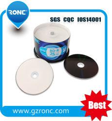 En blanco de alta calidad Blu Ray BD-R 25GB/50GB 4X