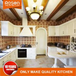 Estilo de moda personalizada sólidos de madeira de carvalho Mobiliário Armários de cozinha