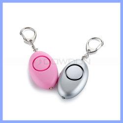 El mejor regalo de promoción Aould portátil Personal de alarma con llavero para dama
