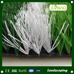 Tappeto erboso artificiale del tappeto erboso del PE dell'erba artificiale sintetica molle materiale di gioco del calcio