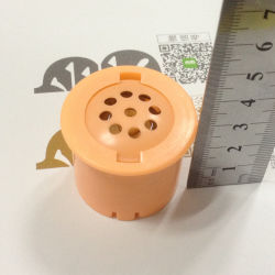 Pressione o botão de som na caixa de plástico com tons Música Vocie 40