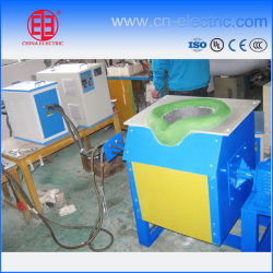 Dl-70 forno de fusão por indução para derreter 50kg ferro/aço