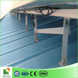 Crochet de tuiles plates de toit solaire toit ondulé galvanisé PV solaire tuile de toit