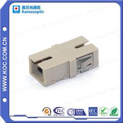 La fibra óptica multimodo para SC Simplex adaptador de fibra óptica