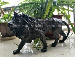 Leão de bronze Escultura Animal