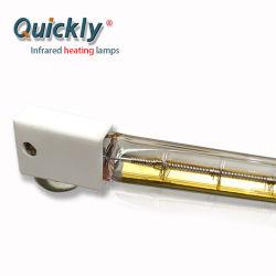 Cuarzo lámpara de halógeno calentador de infrarrojos para Horno Túnel