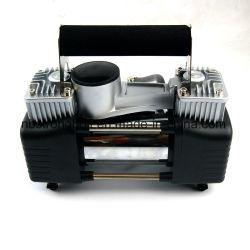 De digitale Dubbele Compressor van de Lucht van de Auto van de Koffer van de Pomp van de Cilinder Opblaasbare 12V