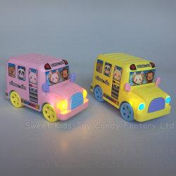Jouet de bonbons d'autobus scolaires avec des bonbons dans les jouets et des bonbons pour les enfants Jouets