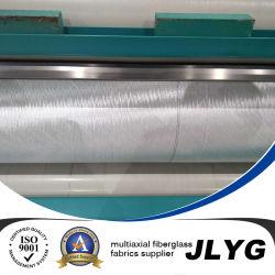 Fiberglas-doppelte Vorspannung oder zweiachsige gerade Legen-oben das Gewebe-Material, das gebildet wird vom Glas, vom Kohlenstoff und von den Aramid Fasern (+/- 45 Grad, 600GSM)