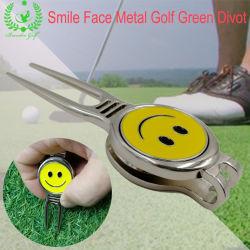 Förderung-Golf-Zubehör eingestellte Metallgolfdivot-Reparatur-Hilfsmittel