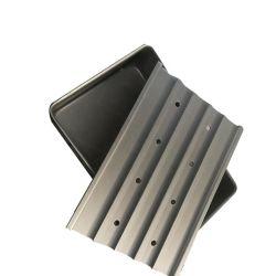 Los mariscos congelados de aluminio bandeja congelador congelador placa de contacto para pan
