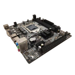 Venda a quente H61-1155 Motherboard do computador com chipset Intel H61 Express